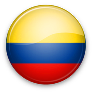 Resultado de imagen para bandera de colombia png