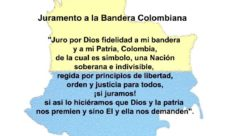 Juramento a la bandera de Colombia