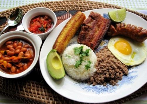 Cuál es la comida típica de Colombia
